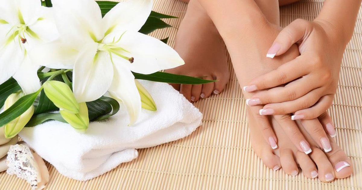 Intensive Fußpflege